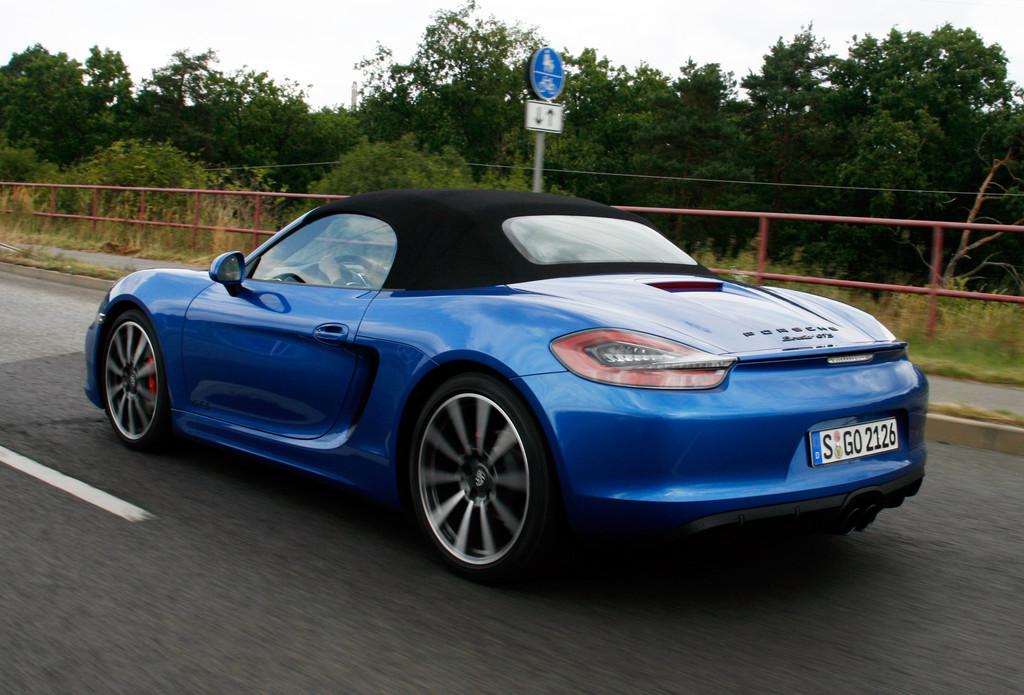 Fahrbericht Porsche Boxster GTS: Einer geht noch