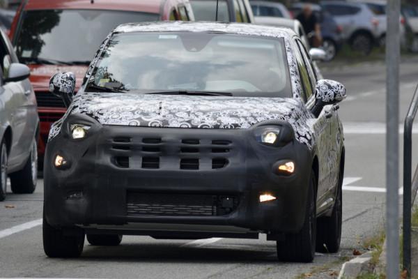 Erwischt: Erlkönig Fiat 500X