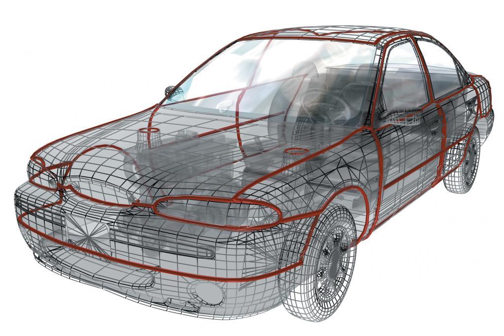 Hightech-Klebstoffe im Auto: Abspecken mit Kleben