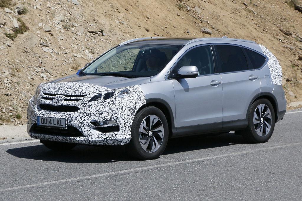 Erwischt: Erlkönig Honda CR-V Facelift