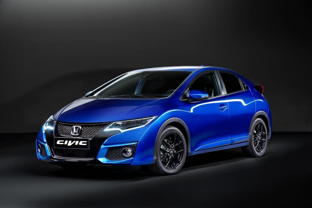 Honda liftet den Civic