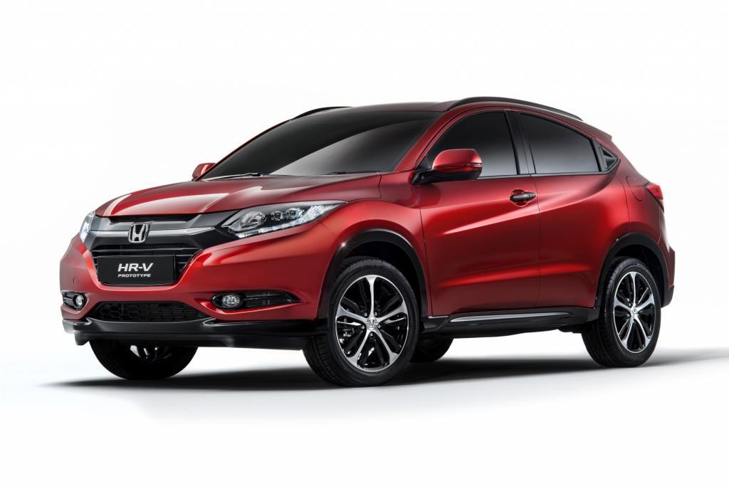Honda zeigt den seriennahen Prototyp des HR-V