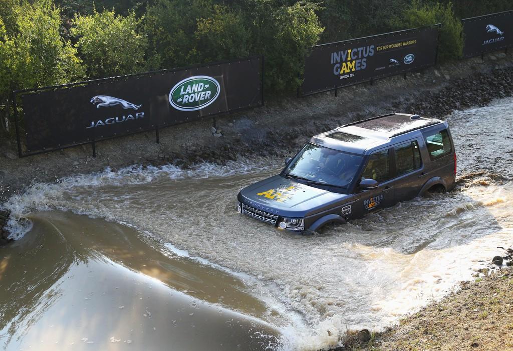 Jaguar Land Rover unterstützte Sportwettbewerb für Kriegsversehrte