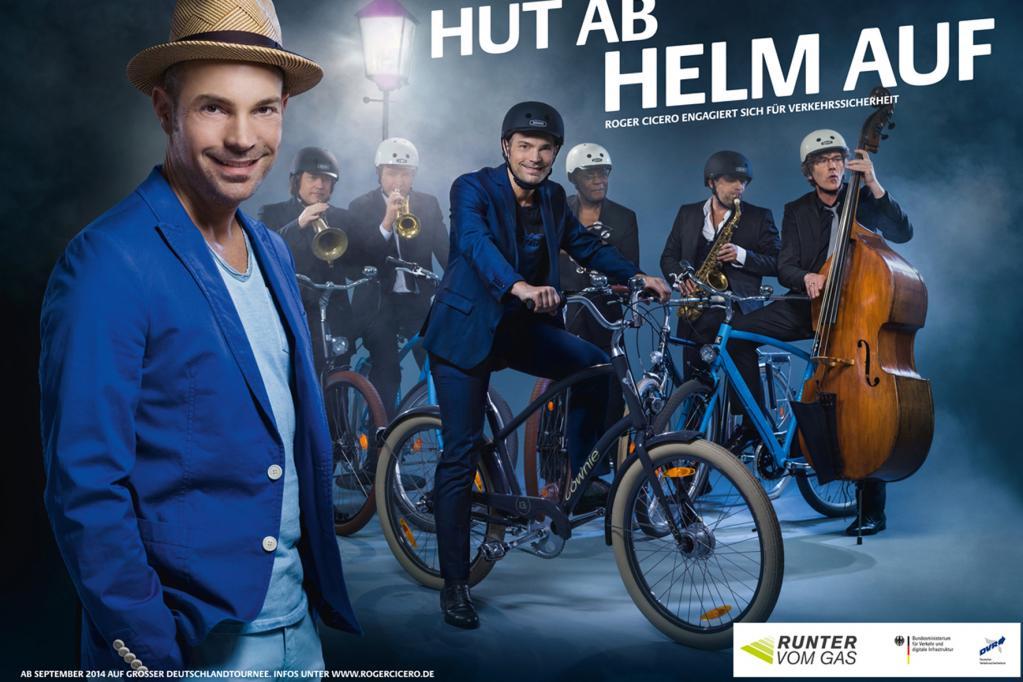 Kampagne für Radfahrer: