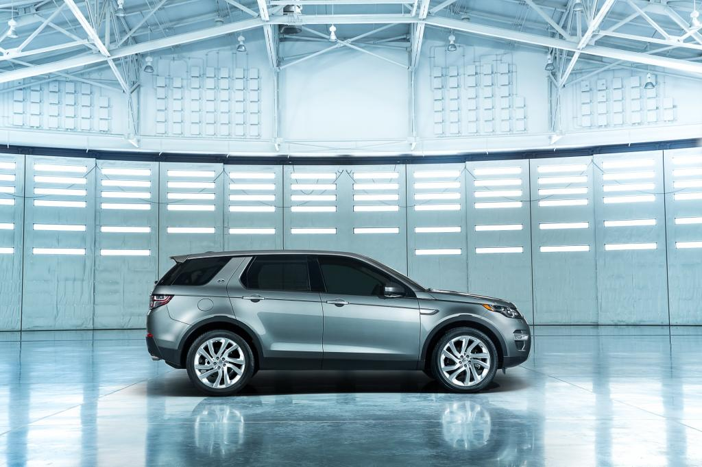 Land Rover zeigt den Discovery Sport