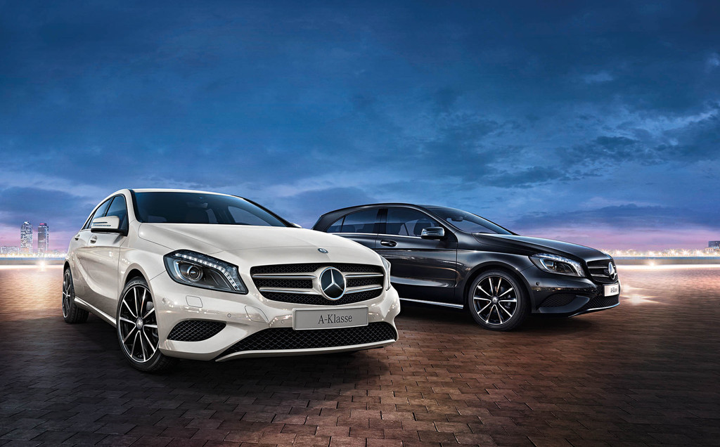Mercedes-Benz A 180 als Sondermodell