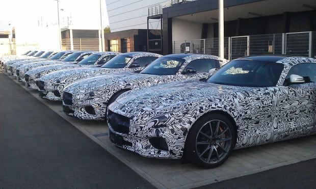 Mercedes-Benz präsentiert Weltpremiere des AMG GT