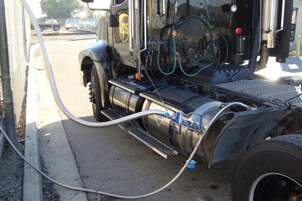 Mit LNG ist eine dritte Gassorte für Autofahrer im Anmarsch