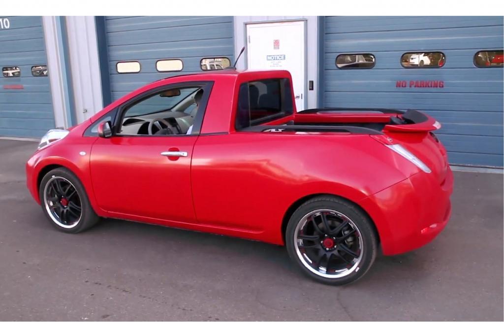 Nissan hat den Leaf zum Pick-up umgebaut