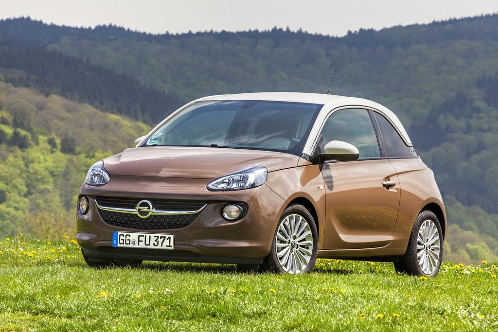Opel Adam bei Tchibo erhältlich