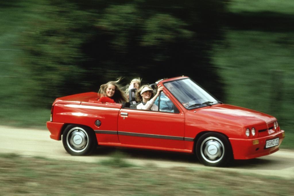 Opel Corsa A Spider Irmscher 1986