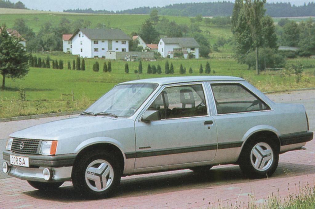 Opel Corsa A Stufenheck TR ab 1983