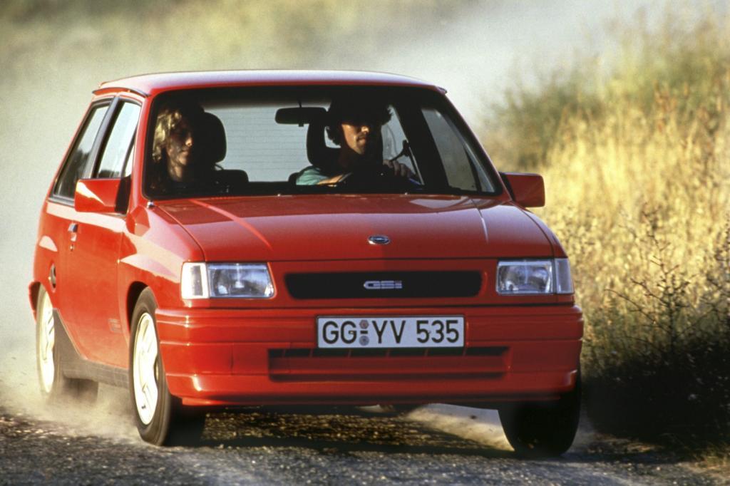 Opel Corsa A Typ GSi Jahr 1991