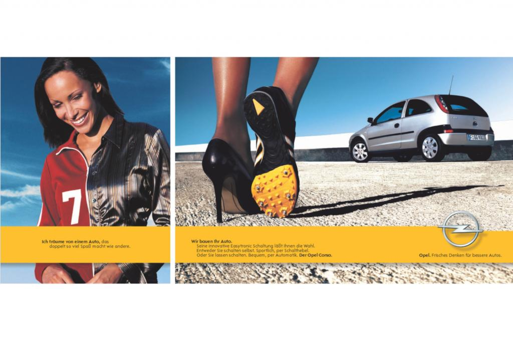 Opel Corsa C Werbeanzeige 2002
