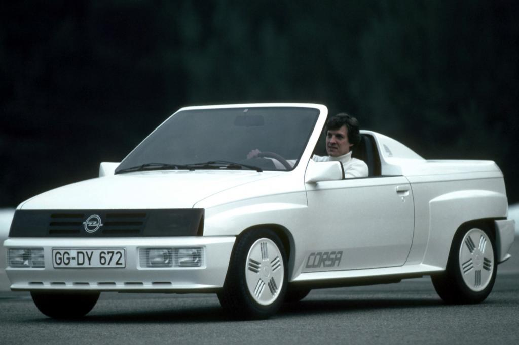 Opel Corsa Spider Studie 1982 Vorbote des Corsa