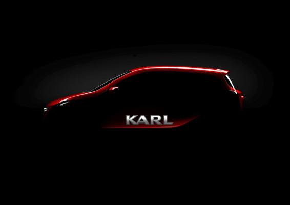 Opel Kleinwagen trägt den Namen Karl