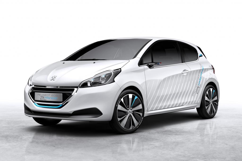 Peugeot zeigt die Studie eines Kleinwagens mit Hybrid-Luft-Antrieb