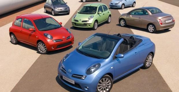 Platz 11: Nissan Micra von 2002, die erste echte Weltpremiere eines japanischen Kleinwagens unter dem Eiffelturm