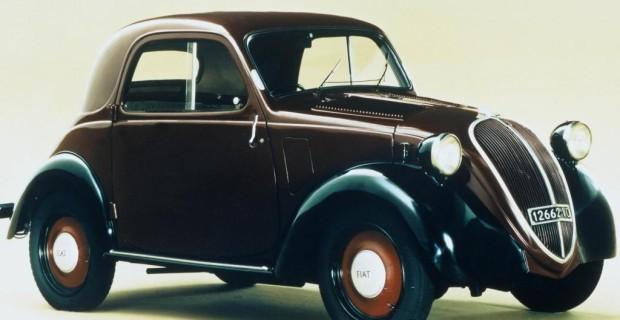 Platz 4: Fiat 500 Topolino von 1936. Ausgerechnet einer der schönsten Sympathieträger Italiens feierte in Frankreich seinen Vermarktungsstart