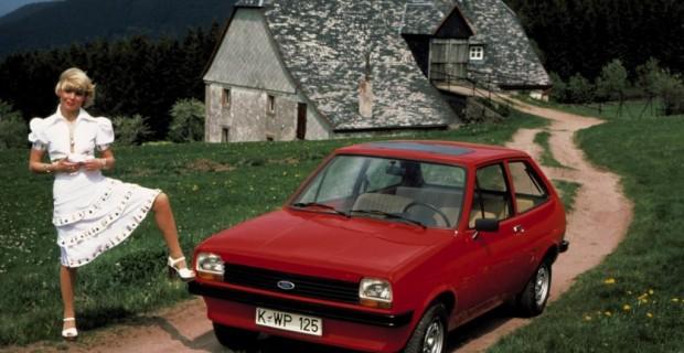 Platz 7: Ford Fiesta von 1976 - der Fiesta avancierte zum König der Kleinwagen