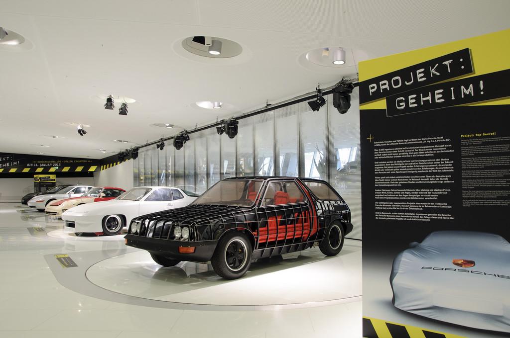 Porsche-Museum zeigt 16 einmalige Raritäten