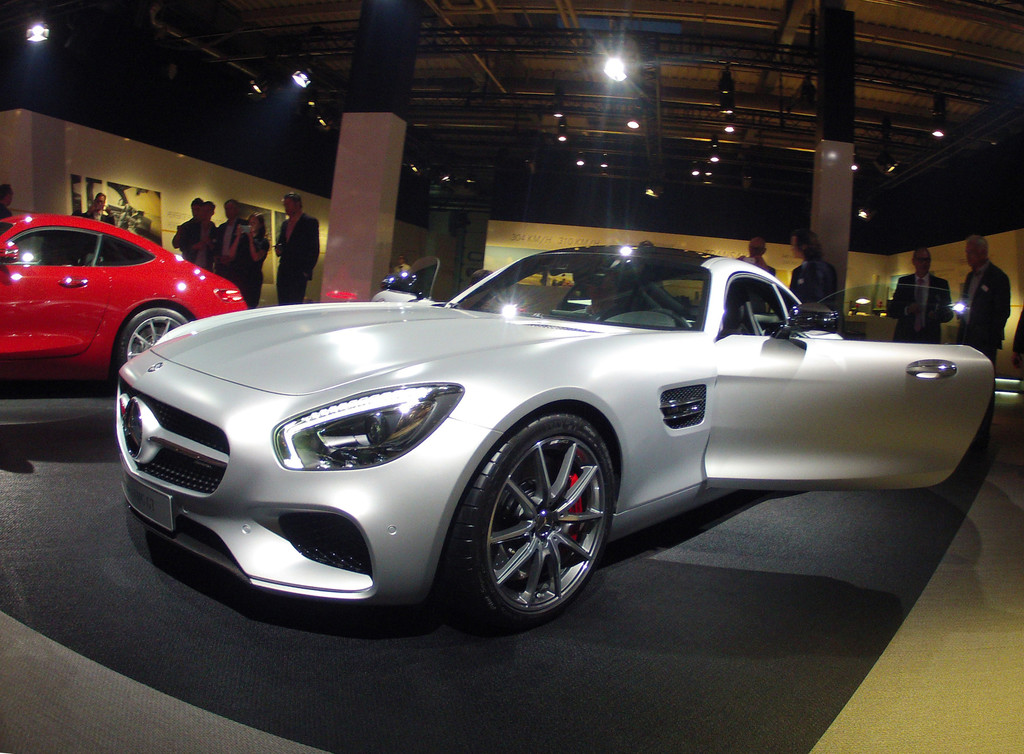 Präsentation AMG GT: Supersportler