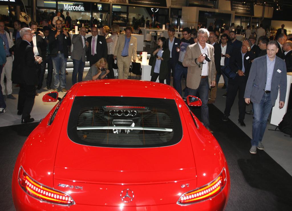 Präsentation AMG GT: Supersportler