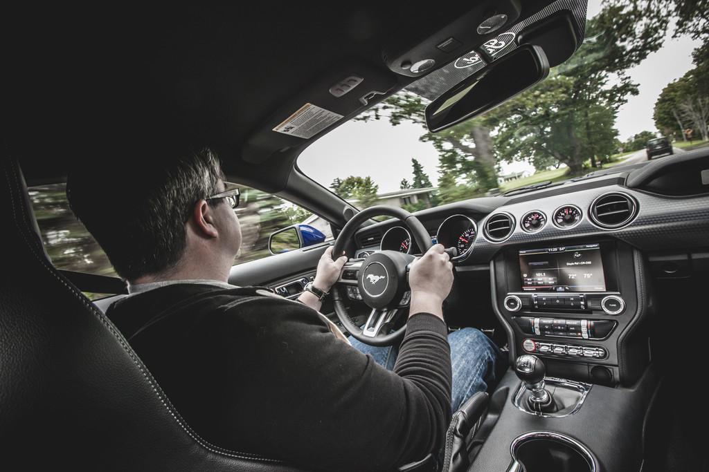 Pressepräsentation Ford Mustang: Europatauglich