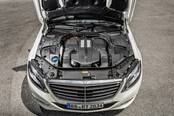 Pressepräsentation Mercedes-Benz S 500 Plug-in-Hybrid: Ziel erfasst