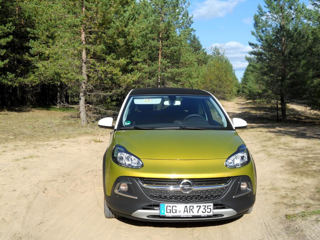 Pressepräsentation Opel Adam Rocks: Bruder Lebenskünstler