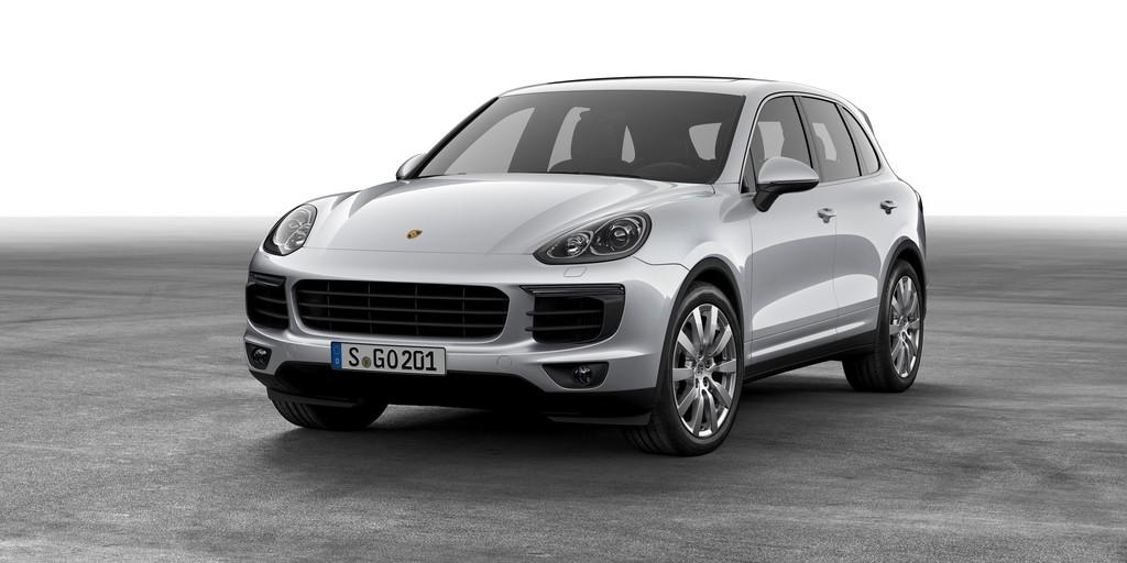 Pressepräsentation Porsche Cayenne: Gipfelstürmer