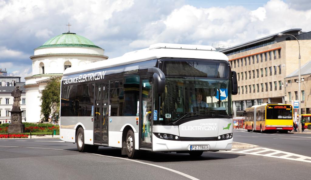 Solaris liefert die ersten Elektrobusse in Polen