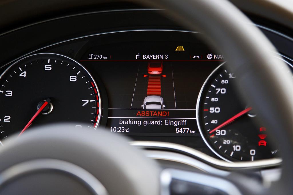 Sparen mit Fahrer-Assistenzsystemen