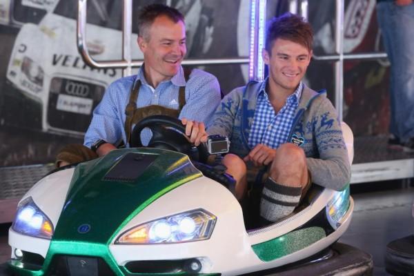 Tourenwagen-Meister auch im Autoscooter schnell