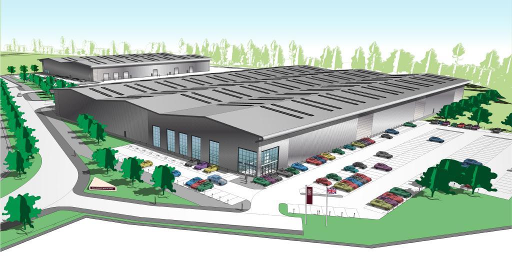 Traumfabrik von Rolls-Royce öffnet 2016