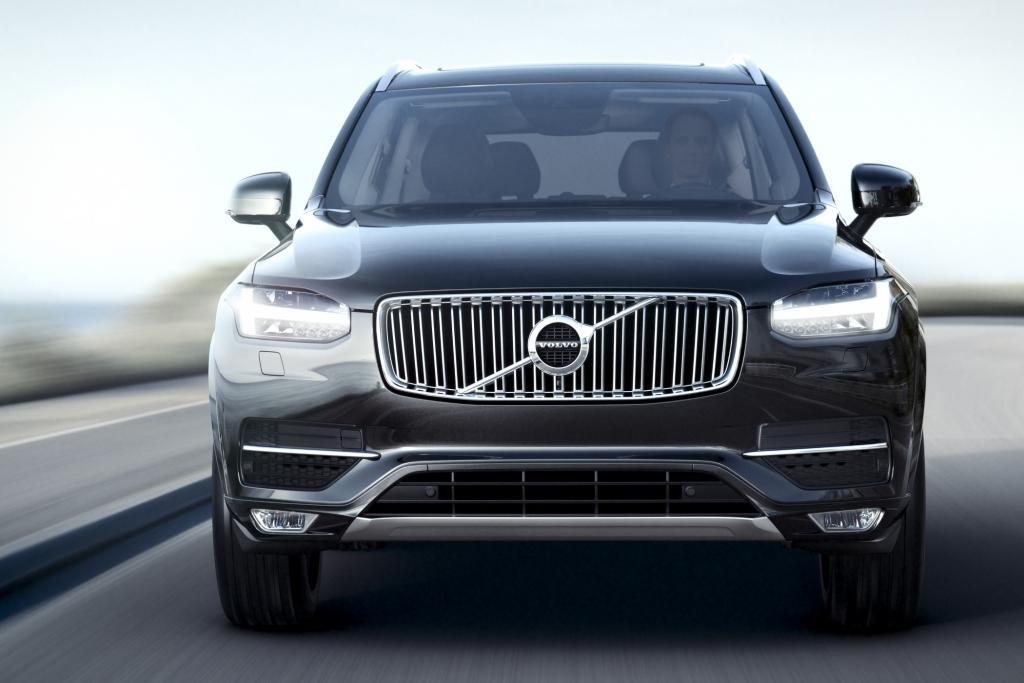 Volvo hat den XC90 dabei