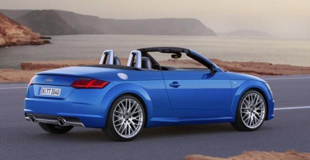 Wie die geschlossene Variante hat auch das Cabrio einen längeren Radstand (plus 3,7 Zentimeter) und ein geschärftes Profil