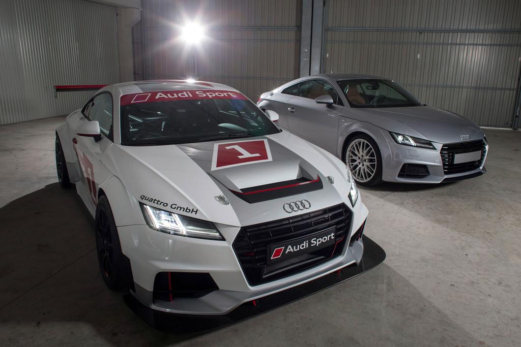 Mit dem TT Cup bietet Audi Motorsport für Einsteiger