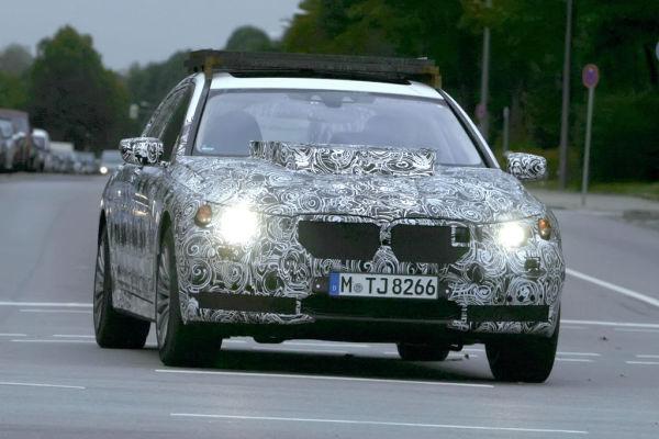 Erwischt: Erlkönig BMW 7er / X7