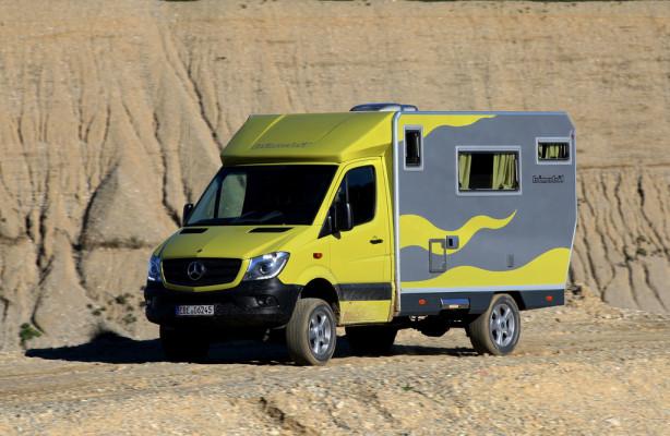 Es muss ja nicht gleich eine Expedition sein: Bimobil EX 366