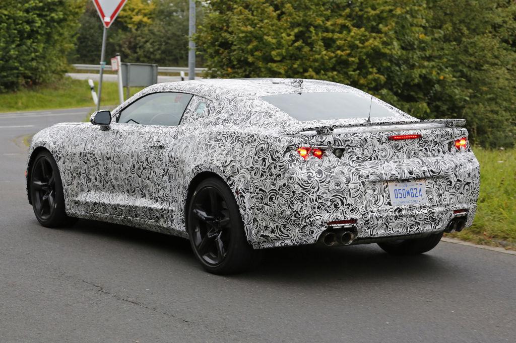 Erwischt: Erlkönig Chevrolet Camaro