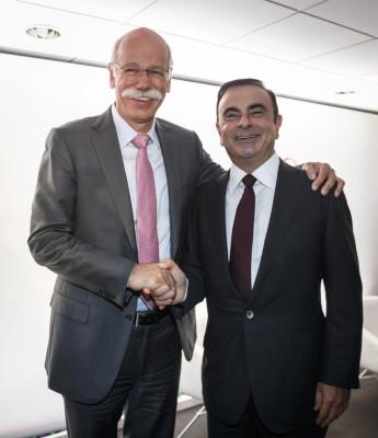 Ghosn und Zetsche zum Stand der Kooperation