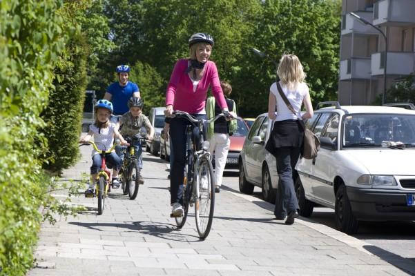 Fahrradhelme schützen wirksam