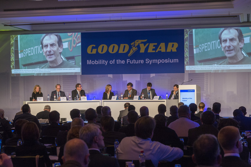 Goodyear: Regulierungsbehörden sollten Straßentransport stärker mitgestalten