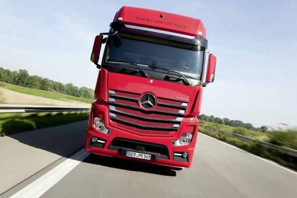 Ein Viertel des Straßengüterverkehrs der EU rollt durch Deutschland