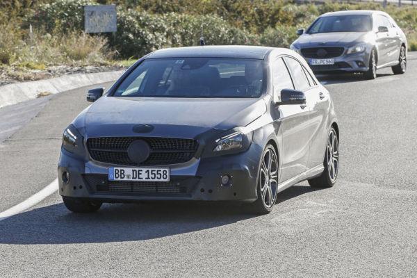Erwischt: Erlkönig Mercedes A-Klasse