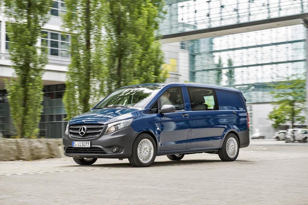 Pressepräsentation Mercedes-Benz Vito: Zu vielem bereit