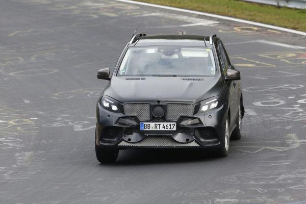 Erwischt: Erlkönig Mercedes-Benz MLE