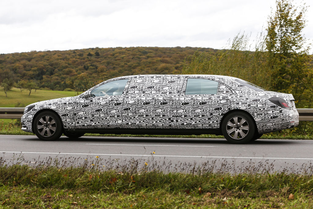 Erwischt: Erlkönig Mercedes-Benz S600 Pullmann