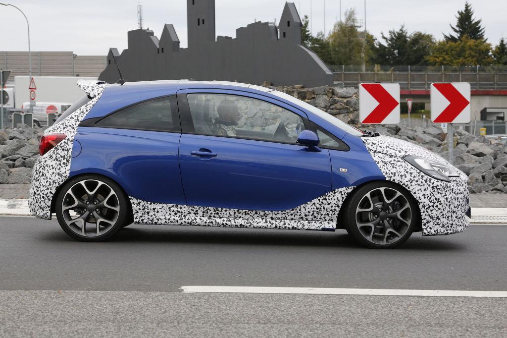 Erwischt: Erlkönig Opel Corsa OPC